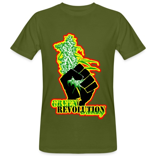 Green revolution - T-shirt bio Homme