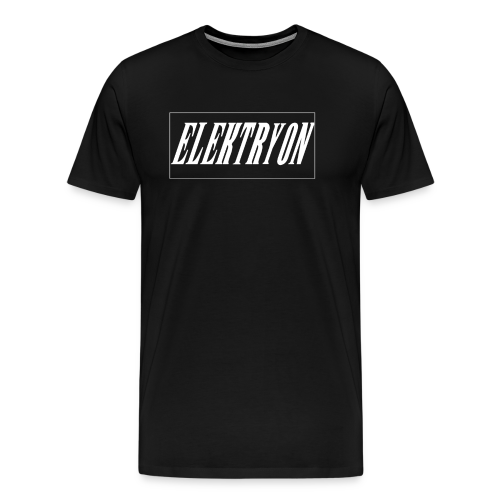 Elektryon Banner Black for Men - Männer Premium T-Shirt