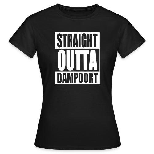 Straight outta Dampoort - Vrouwen T-shirt