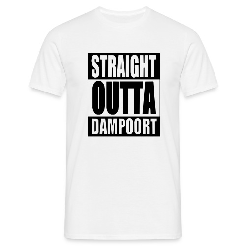 Straight outta Dampoort - Mannen T-shirt