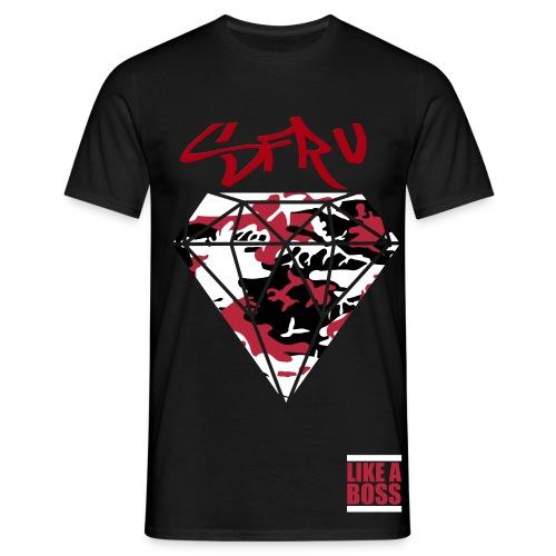 sfrv diamond camo t shirt  - Men's T-Shirt