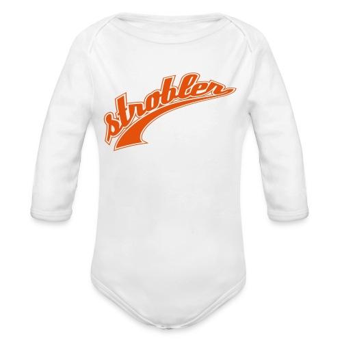 Strobler Baby-Body - Baby Bio-Langarm-Body