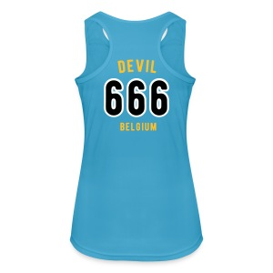 Devil 666 Player Team Belgium - Vrouwen tanktop ademend