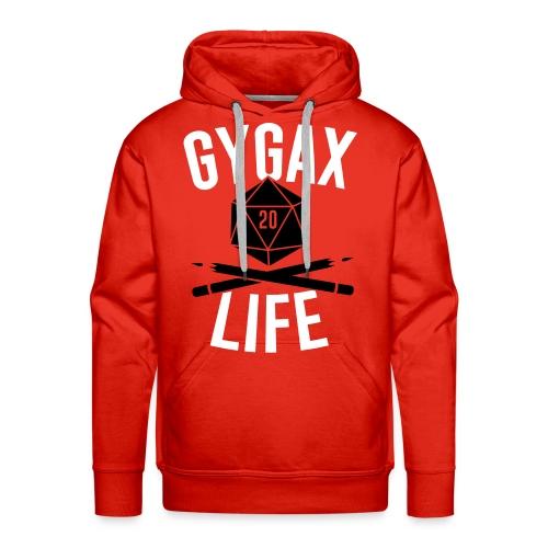 #GYGAXLIFE Hoodie - Felpa con cappuccio premium da uomo