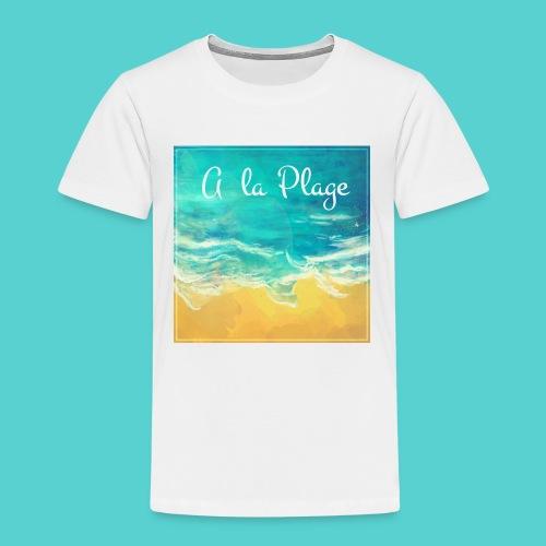 A la plage - T-shirt Premium Enfant