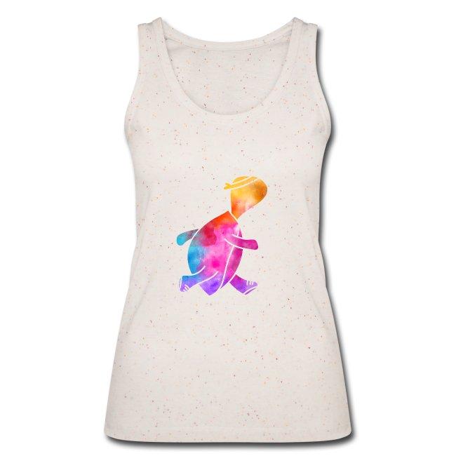 Ärmelloses Daphne-Shirt in Bio-Qualität