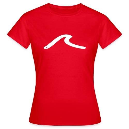 la vague blanche - T-shirt Femme