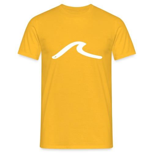 la vague blanche - T-shirt Homme