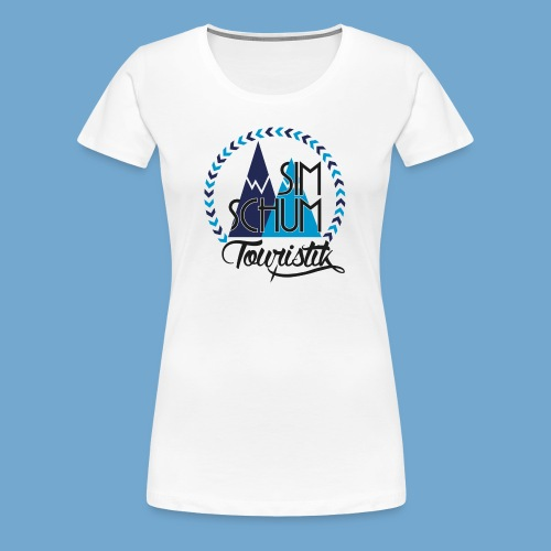 Logo T-Shirt Women - Frauen Premium T-Shirt