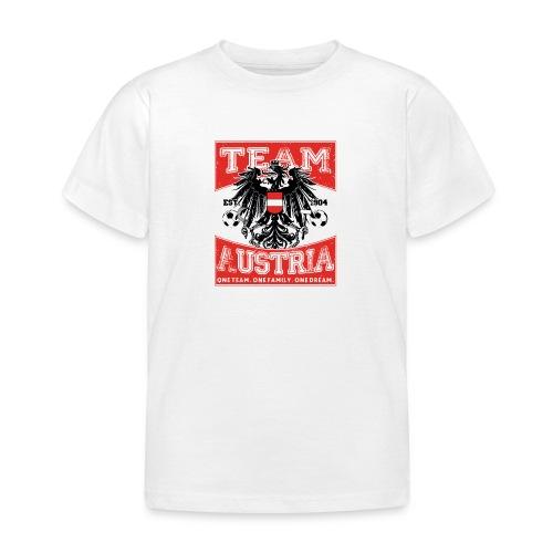 Team Austria - Adler (Kinder T-Shirt) - Kinder T-Shirt