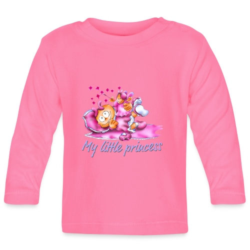 T-Shirt Prinzessin - Baby Langarmshirt