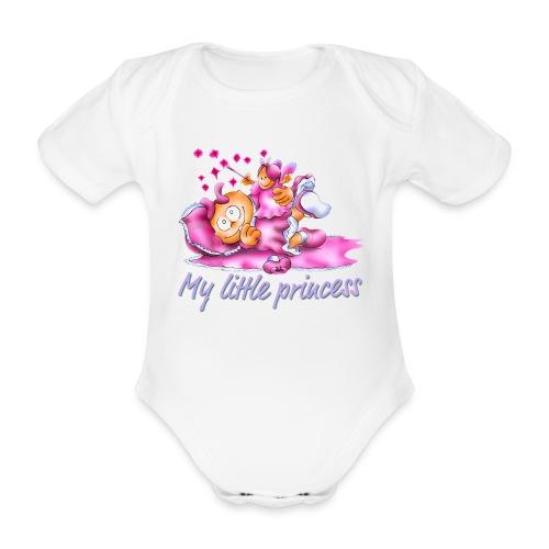 Baby-Body Prinzessin - Baby Bio-Kurzarm-Body