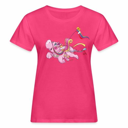 Hippo Ladies T-Shirt - Women's Organic T-Shirt