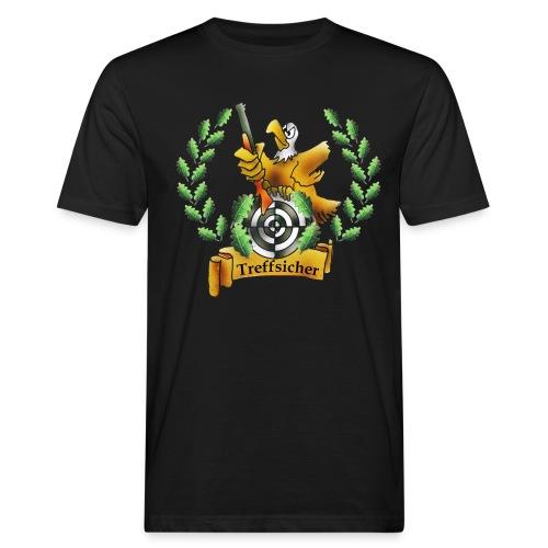 Treffsicher: Shirt zum Schützenfest - Männer Bio-T-Shirt