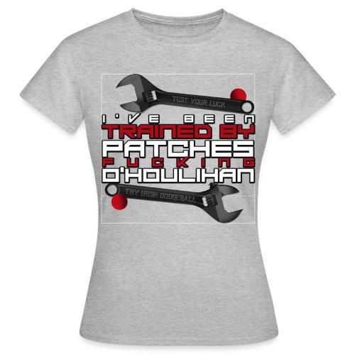 T-Shirt F - Patches Fucking O'Houlihan (double wrench) - T-shirt Femme