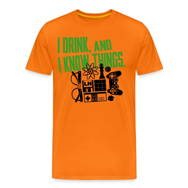 I Know Things Combo T-Shirt