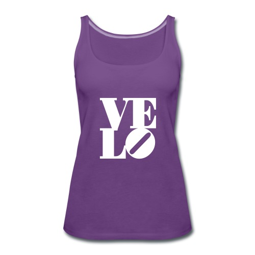 Velo-Tank-Top - Frauen Premium Tank Top
