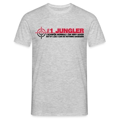 #1 Jungler wiff lägs - Men's T-Shirt