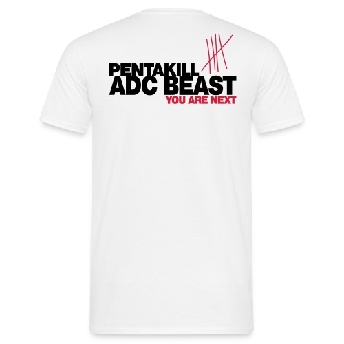 Feed me - ADC Beast - Men's T-Shirt