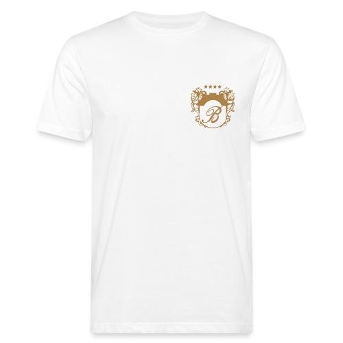Bellevue Herren Crew Shirt weiß - Männer Bio-T-Shirt