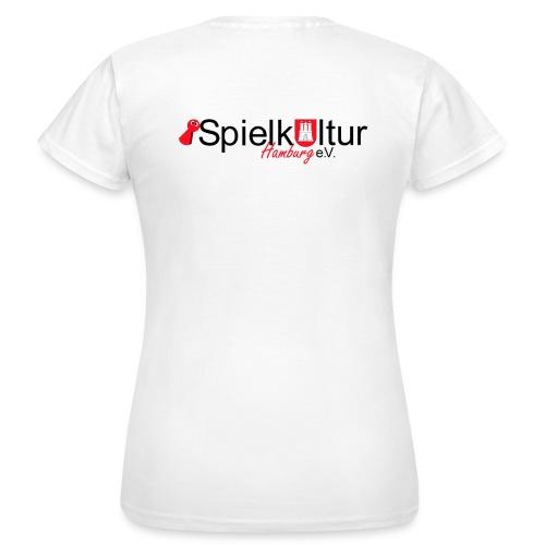 Frauen T-Shirt mit Logo - Frauen T-Shirt