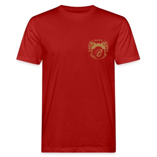 Bellevue Herren Shirt rot - Männer Bio-T-Shirt