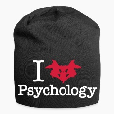 I Heart (Rorschach Inkblot) Psychology Caps & Hats