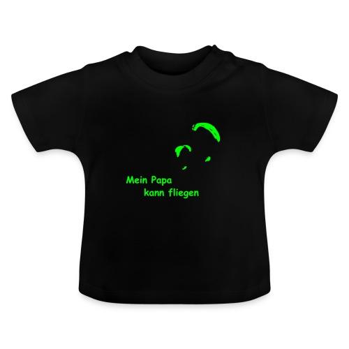 Papa fliegt - Baby-Tshirt - Baby T-Shirt