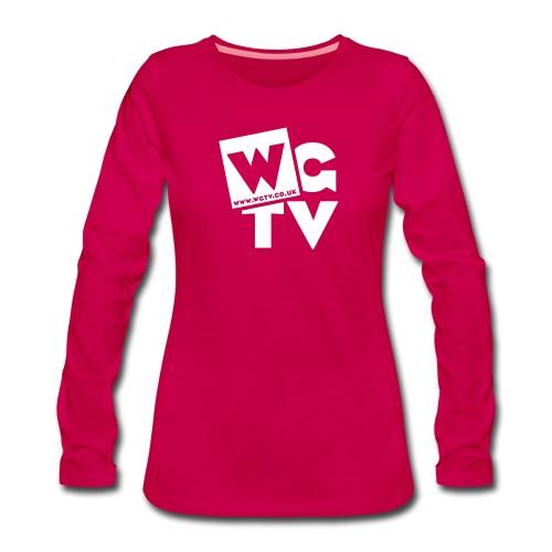 Women's Premium Longsleeve Shirt with Logo - Women's Premium Longsleeve Shirt