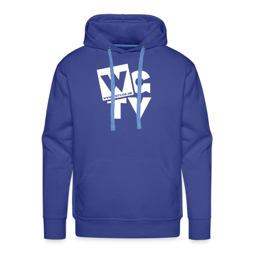 Men's Premium Hoodie with Logo - Men's Premium Hoodie