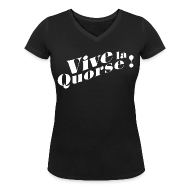 Tee shirts ~ Tee shirt col V Femme ~ Vive la Quorse ! - Girl