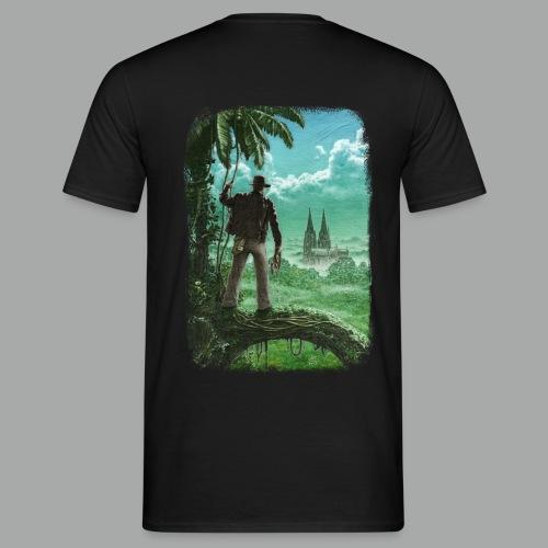 Abenteuer in Köln, beidseitig, Grunge - Männer T-Shirt