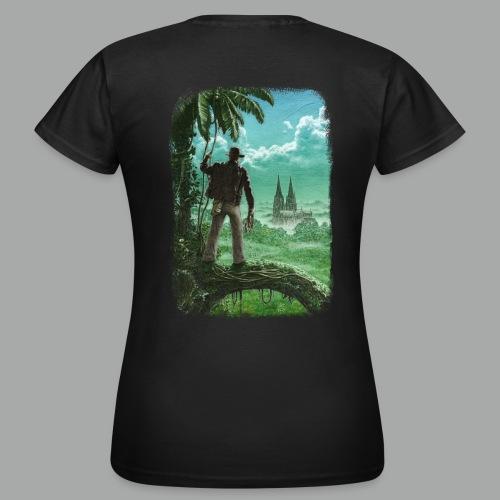 Abenteuer in Köln, beidseitig, Grunge - Frauen T-Shirt