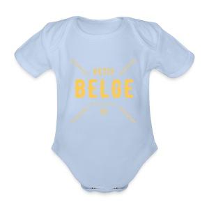 petit Belge - Baby bio-rompertje met korte mouwen