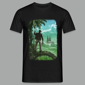 Abenteuer in Köln, Grunge - Männer T-Shirt