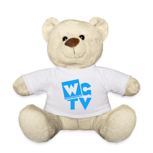 Teddy Bear with Blue Logo - Teddy Bear