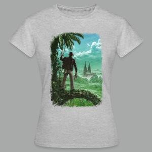 Abenteuer in Köln, Grunge - Frauen T-Shirt
