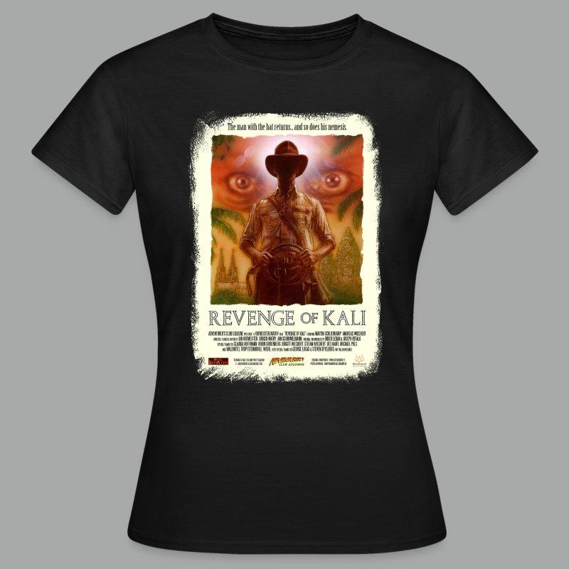 Revenge of Kali Poster, Grunge - Frauen T-Shirt