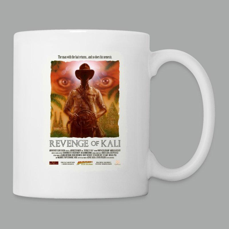 Revenge of Kali Poster, Grunge - Tasse