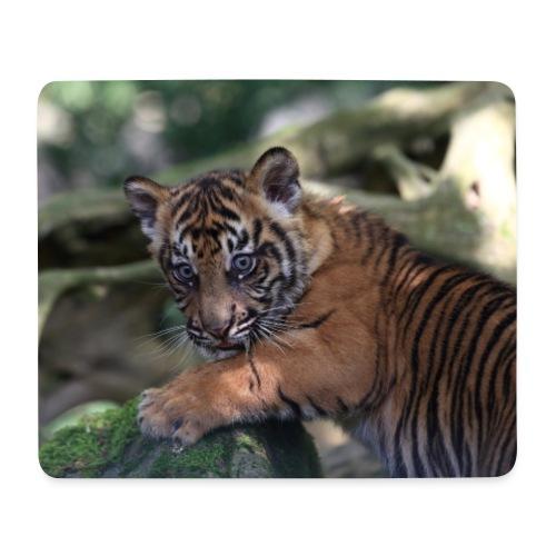 Tapis souris bébé tigre B - Tapis de souris (format paysage)