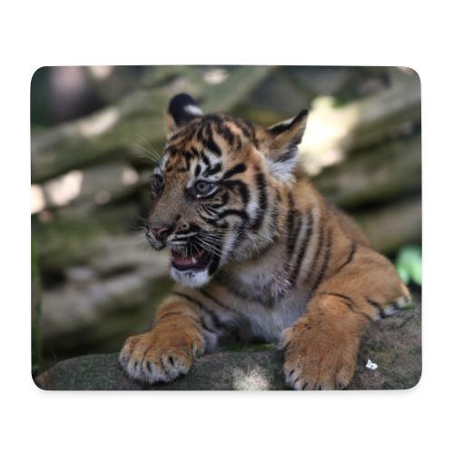 Tapis souris bébé tigre A - Tapis de souris (format paysage)