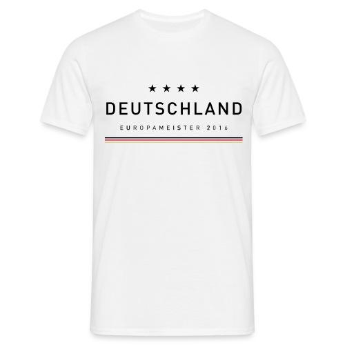 Deutschland Europameister 2016 - Männer T-Shirt