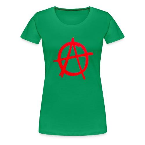 Anarchy Graffiti - Women's Premium T-Shirt