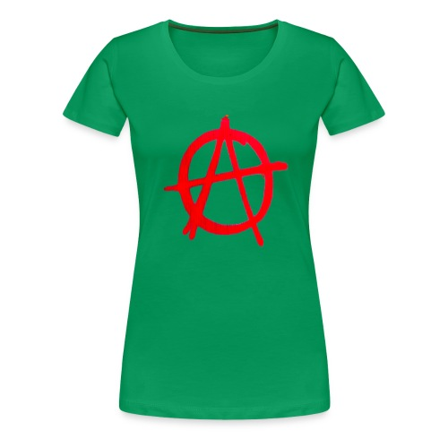 Anarchy Graffiti - Women's Premium T-Shirt