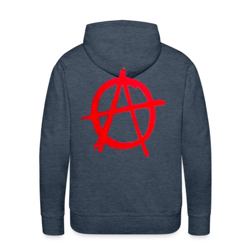 Anarchy Graffiti - Men's Premium Hoodie