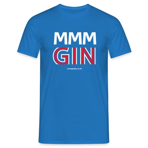 MMM GIN - Blue - Men's T-Shirt