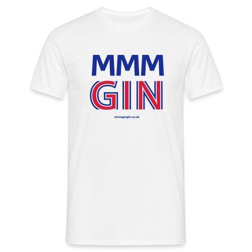 MMM GIN - White - Men's T-Shirt