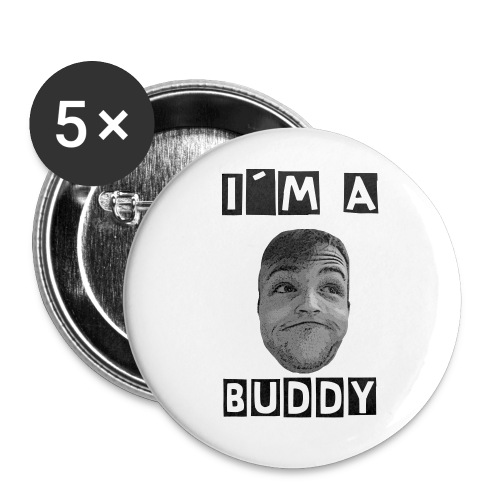 Buddy-Botton - Buttons mittel 32 mm