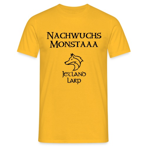 Nachwuchsmonsta (dark print) - Männer T-Shirt
