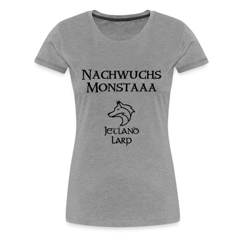 Nachwuchsmonsta (dark print) - Frauen Premium T-Shirt